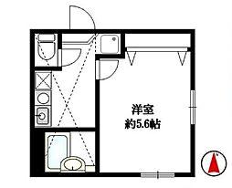 リーヴェルポート戸塚2[2階]の間取り