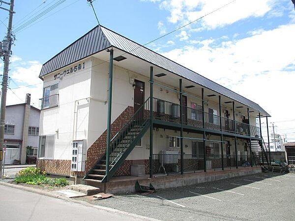 サニーウェル5条 2階の賃貸【北海道 / 北見市】