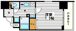大阪府大阪市天王寺区六万体町の賃貸マンションの間取り