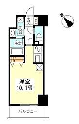 TKフラッツ渋谷[7階]の間取り