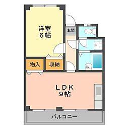 ドルトワール篠崎II[306号室]の間取り