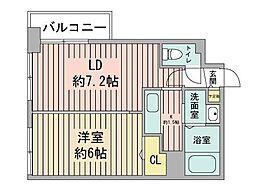 KDXレジデンス南三条[9階]の間取り