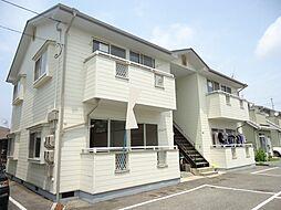 西江コーポ A[102号室]の外観