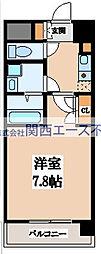 CASSIA高井田NorthCourt[3階]の間取り