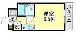 塚口イシカワビル[6階]の間取り