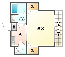 ファミーユイシハラ[2階]の間取り