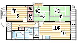 コンフォートステージI[3階]の間取り