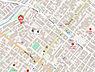 地図,ワンルーム,面積30m2,賃料3.3万円,札幌市営東西線 琴似駅 徒歩11分,札幌市営東西線 発寒南駅 徒歩13分,北海道札幌市西区琴似四条6丁目4番12号