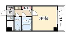 シンフォニー東大沼[215号室]の間取り