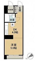 京急西広島マンション[0412号室]の間取り