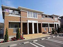 兵庫県姫路市別所町北宿の賃貸アパートの外観