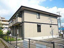 大阪府高槻市真上町1丁目の賃貸アパートの外観