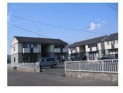 広島県福山市加茂町字中野1丁目の賃貸アパートの外観