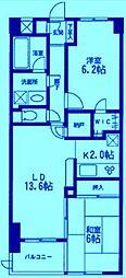 KDXレジデンス宮前平[2階]の間取り