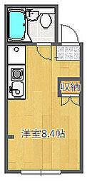 JPアパートメント吹田IV[201号室]の間取り