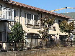 東京都府中市緑町2丁目の賃貸アパートの外観