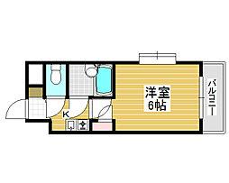 シャルマンフジ堺東壱番館[3階]の間取り