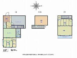 [一戸建] 和歌山県和歌山市中島 の賃貸【和歌山県/和歌山市】の間取り