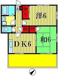ハウス・アイメット[2階]の間取り