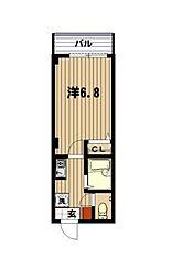 レフア南常盤台[1階]の間取り