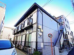 東京都練馬区高野台3丁目の賃貸アパートの外観
