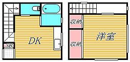 小倉ビル[2階]の間取り