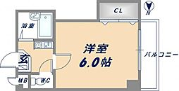 Collection小阪 (旧:プレミールシェソワ)[3階]の間取り