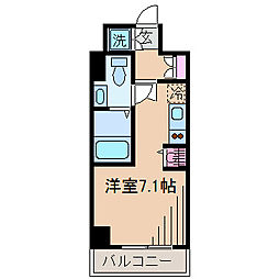 神奈川県横浜市港北区菊名6丁目の賃貸マンションの間取り