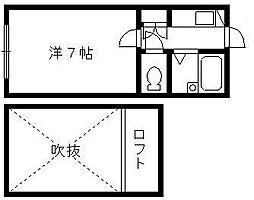 URBAN RESIDENCE[1階]の間取り