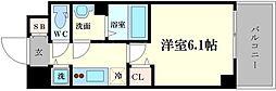 メインステージ京町堀[9階]の間取り
