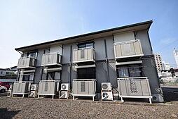 栃木県宇都宮市三番町の賃貸アパートの外観
