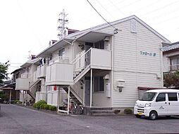 愛知県安城市篠目町古林畔の賃貸アパートの外観