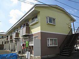 埼玉県鴻巣市稲荷町の賃貸アパートの外観