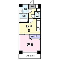 ボーエトワール[2階]の間取り