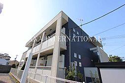 埼玉県草加市瀬崎3丁目の賃貸アパートの外観