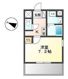 K,s house玉ノ井[9階]の間取り