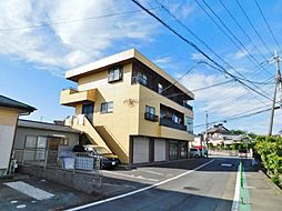 静岡県三島市松本の賃貸アパートの外観