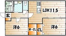 レトア[2階]の間取り