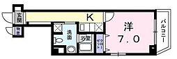 東京都江東区南砂5丁目の賃貸マンションの間取り