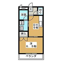 ファミール加藤II[1階]の間取り