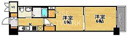 エステムプラザ京都三条大橋[211号室号室]の間取り
