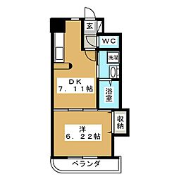 MSKコート[3階]の間取り