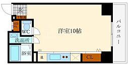 エルミタージュ難波南II[6階]の間取り