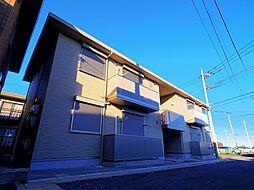 埼玉県所沢市所沢新町の賃貸アパートの外観