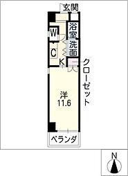 かむろビル西館[5階]の間取り