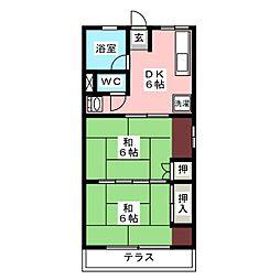 シティハイムHIROMI[1階]の間取り