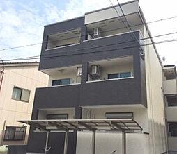 大阪府大阪市東住吉区田辺5丁目の賃貸アパートの外観