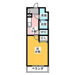 フォーマルハウト[4階]の間取り