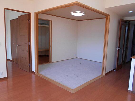 和室 新しい畳...