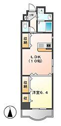 第13オオタビル[8階]の間取り